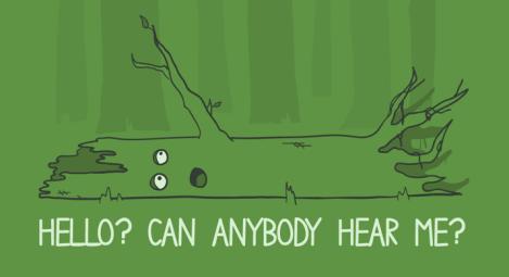 A tree falls